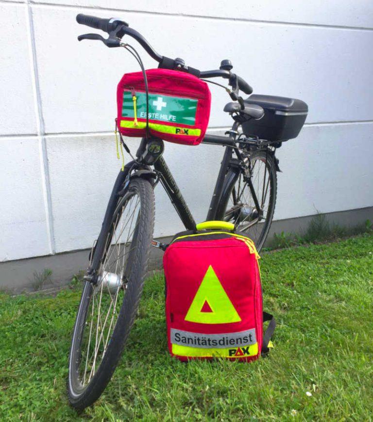 Sanitätsdienst Fahrrad